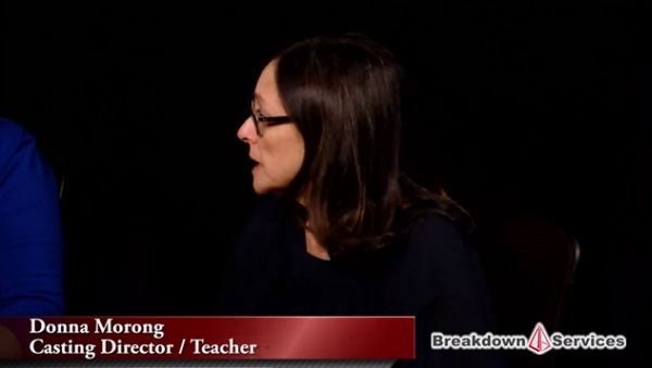 "Nancy Bishop Panel – Part 3 – ""Casting Process"""