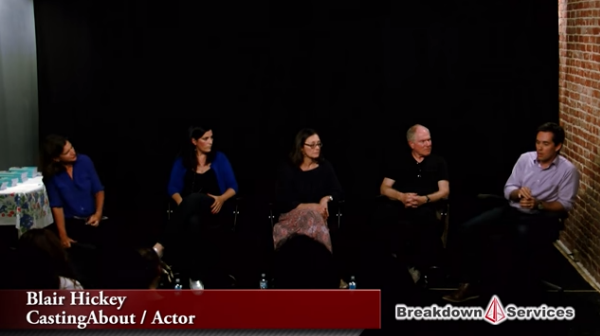 """Nancy Bishop Panel – Part 6 – """"Self Taped Auditions"""""""