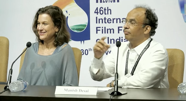 IFFI 2015: Press Conference with Ms Nancy Bishop, Casting Director, Hollywood